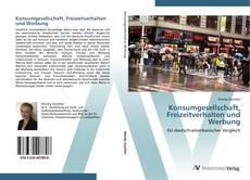 Обложка Konsumgesellschaft, Freizeitverhalten und Werbung