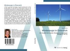 Bookcover of Windenergie in Österreich
