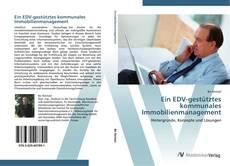 Buchcover von Ein EDV-gestütztes kommunales Immobilienmanagement