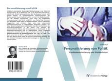 Bookcover of Personalisierung von Politik