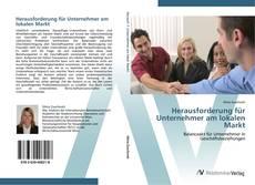 Buchcover von Herausforderung für Unternehmer am lokalen Markt