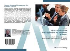 Buchcover von Human Resource Management als Business Partner