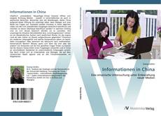 Bookcover of Informationen in China