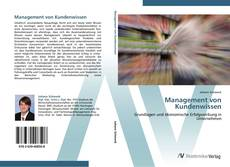Couverture de Management von Kundenwissen