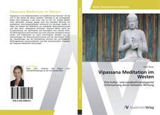Copertina di Vipassana Meditation im Westen