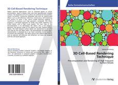 Portada del libro de 3D Cell-Based Rendering Technique