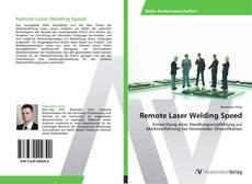 Buchcover von Remote Laser Welding Speed