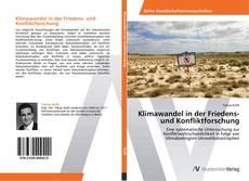 Buchcover von Klimawandel in der Friedens- und Konfliktforschung
