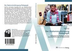 Bookcover of Der Diplomstudiengang Pädagogik