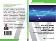 Bookcover of Laserbasierende Messmethode zur Insitu-Bestimmung von Poliertuchdicken