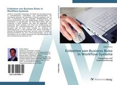 Bookcover of Einbetten von Business Rules in Workflow-Systeme