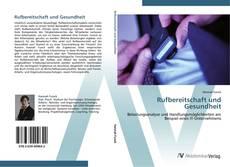 Buchcover von Rufbereitschaft und Gesundheit