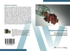 Capa do livro de Depression Debate