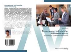 Couverture de Finanzierung betrieblicher Altersversorgung