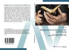 Bookcover of Religiosität im Zeitalter der Aufklärung