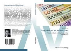 Bookcover of Finanzkrisen im Mittelstand
