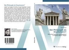 Copertina di Der Philosoph als Staatsmann?