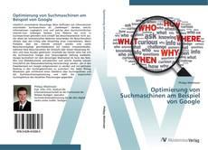 Bookcover of Optimierung von Suchmaschinen am Beispiel von Google