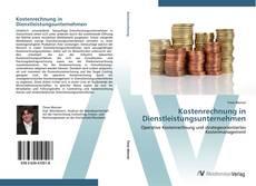 Portada del libro de Kostenrechnung in Dienstleistungsunternehmen