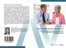Bookcover of Der Patient als Ko-Therapeut