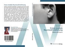 Buchcover von Cross-modale Raumwahrnehmung