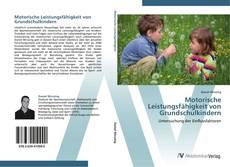 Buchcover von Motorische Leistungsfähigkeit von Grundschulkindern