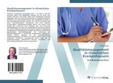 Portada del libro de Qualitätsmanagement  in chinesischen Krankenhäusern