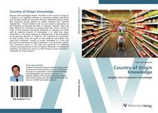 Bookcover of Country of Origin Knowledge
