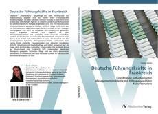 Buchcover von Deutsche Führungskräfte in Frankreich