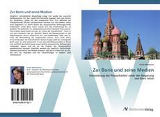 Zar Boris und seine Medien kitap kapağı