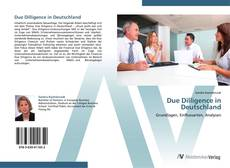 Bookcover of Due Dilligence in Deutschland