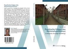 Psychische Folgen des Nationalsozialismus kitap kapağı