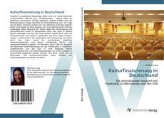Couverture de Kulturfinanzierung in Deutschland