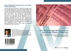 Copertina di Die langfristige Performance von Initial Public Offerings