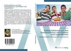 Buchcover von Einflussfaktoren auf den Gewichtsstatus von Kindern und Jugendlichen