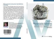 Обложка Ökonomische Evaluation betrieblicher Vorsorge
