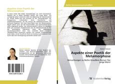 Buchcover von Aspekte einer Poetik der Metamorphose