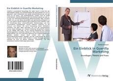 Buchcover von Ein Einblick in Guerilla Marketing