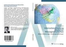 Capa do livro de Internationalisierung deutscher Messegesellschaften