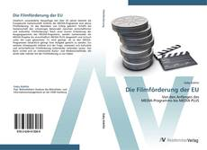 Portada del libro de Die Filmförderung der EU