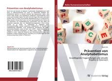 Capa do livro de Prävention von Analphabetismus