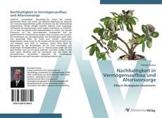 Capa do livro de Nachhaltigkeit in Vermögensaufbau und Altersvorsorge