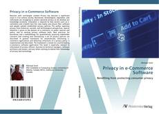 Bookcover of Privacy in e-Commerce Software