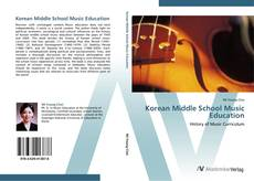 Bookcover of Korean Middle School Music Education
