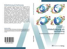 Capa do livro de Globalisierung als Sachzwang