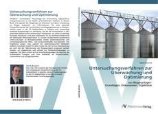Capa do livro de Untersuchungsverfahren zur Überwachung und Optimierung