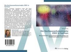 Bookcover of Die Hochwasserkatastrophe 2002 in Sachsen