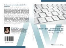 Обложка Analyse des Lernerfolges bei Online-Übungen