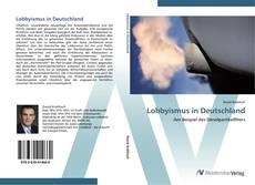 Bookcover of Lobbyismus in Deutschland