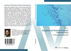 Bookcover of Analysis of Protein-Protein Interactions